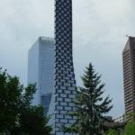 Wolkenkratzer Telus Sky in Calgary, Kanada.