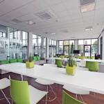 Lichtdurchflutete Räume, hohe Arbeitseffizienz und geringere Investitions- und Betriebskosten lassen sich berechnen.
