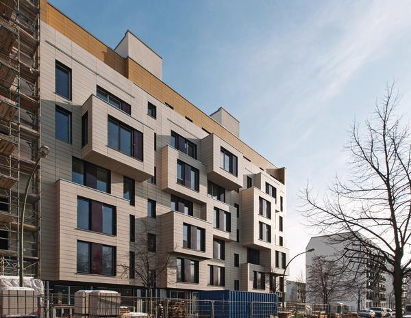 Neubau eines Nullemissions-Wohnhauses in Berlin