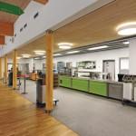 Geschmackvoll und einladend: So kann gesunde Küche Schule machen. Bilder: Silikal
