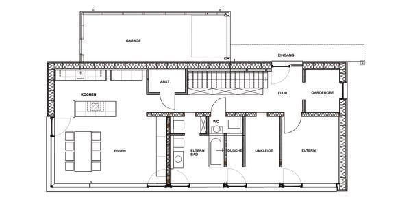 Holzrahmenbau konstruktion grundriss  Neubau eines Passivhaus-Wohngebäudes in Leverkusen. Gebaute Naturnähe