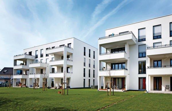 neubau zweier mehrfamilienh user in frankfurt verbesserte flankenschalld mmung. Black Bedroom Furniture Sets. Home Design Ideas