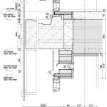 Detail Balkon. Zeichnungen: casanova + herandez architecten