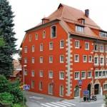 Für das Museum des Verlags Ravensburger AG wurde ein historisches Fachwerkhaus denkmalgerecht saniert.