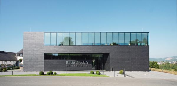 Neues Bürogebäude von Rathscheck Schiefer in Mayen.