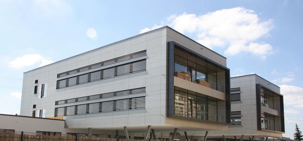 Bürogebäude in Fürth.