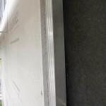 Dämmung, hinterlüfteter Hohlraum und die witterungsbeständige Trägerplatte Cement Board Outdoor. Bilder: Knauf Aquapanel