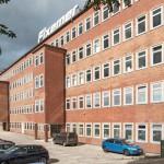 Das denkmalgeschützte ehemalige Arbeitsamt Berlin-Neuköllns wurde zur Hauptstadt-Niederlassung eines Logistik-Unternehmens umgebaut. Bilder: Owa