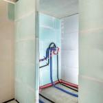 Als leichte Trennwand zur Reduzierung von Installationsgeräuschen nachweislich geeignet, aber keine flächenbezogene Masse von 220 kg/m².