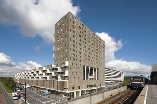 Neubau eines wohn und gesch ftsblocks in amsterdam for Ideal hotel design 75014