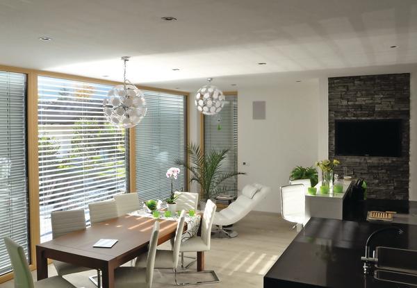 tageslichtraffstore gegen hitze und f r durchsicht. Black Bedroom Furniture Sets. Home Design Ideas