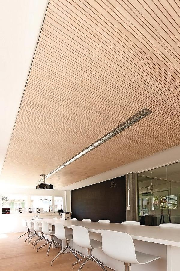 brettsperrholz decken bei gro en spannweiten. Black Bedroom Furniture Sets. Home Design Ideas