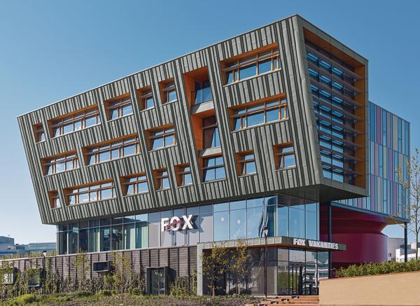 Neubau zweier b rogeb ude bei amsterdam koeffektiv - Dynamische architektur ...