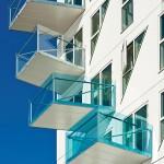 Unterschiedlich große Balkone mit unterschiedlicher Ausrichtung: Auch sie sorgen für eine lebendige Durchmischung.