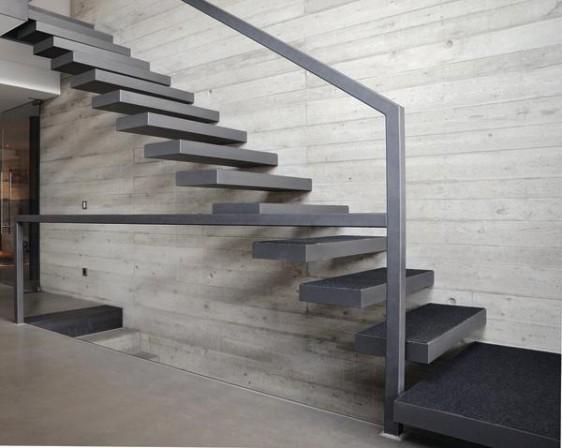 pure kragarmtreppe. Black Bedroom Furniture Sets. Home Design Ideas
