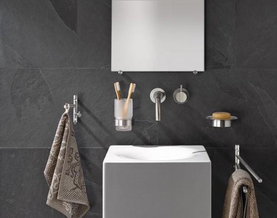 funktionalit t und design in edelstahl. Black Bedroom Furniture Sets. Home Design Ideas