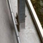 Die Einbindung der Geländerstützen in die Flächenabdichtung war wegen der flüssigen Verarbeitung des Materials problemlos.