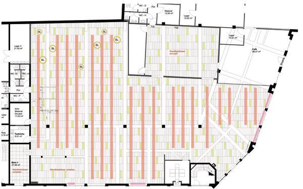 Umbau Eines Supermarktes Zur Bibliothek In Ochtrup Im