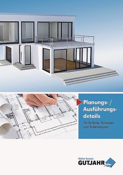 planungs und ausf hrungsdetails f r balkone terrassen und au entreppen. Black Bedroom Furniture Sets. Home Design Ideas