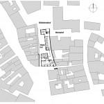 Lageplan. Zeichnungen: Arc-Architekten Partnerschaft