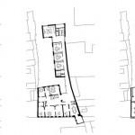 Grundrisse Erdgeschoss - Obergeschoss - Dachgeschoss (v.l.n.r.).
