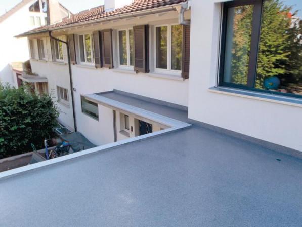 reaktionsharz f r balkone und terrassen. Black Bedroom Furniture Sets. Home Design Ideas