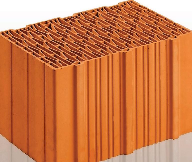Bauziegel. Bild: unipor