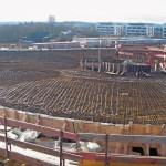 2400 m² Decken der Galerie und der Büros im 1. und 2. OG sind mit Betonkerntemperierung ausgestattet.