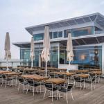 """Im Sommer 2014 eröffnete das Restaurant """"Wolkenlos"""" auf der Seeschlösschenbrücke."""