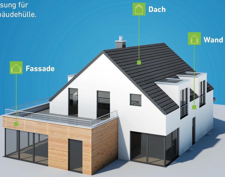 Gebäudemodell. Bild: tremco illbruck