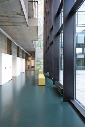 neubau eines forschungszentrums in t bingen. Black Bedroom Furniture Sets. Home Design Ideas