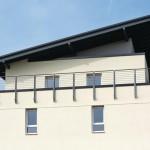Attikaelemente und hochwertige Flachdachdämmungen sind Bestandteil des Passivhauskonzeptes.