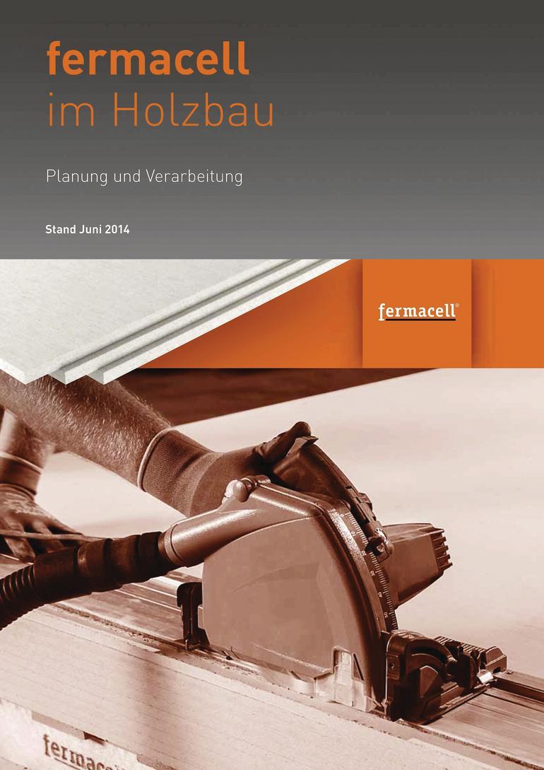 fermacell-Broschüre zur Planung und Verarbeitung im Holzbau.