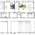 Grundriss Obergeschoss. Zeichnungen: kadawittfeldarchitektur GmbH, Aachen