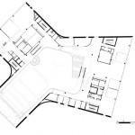 Grundriss erstes Obergeschoss. Zeichnungen: Mecanoo