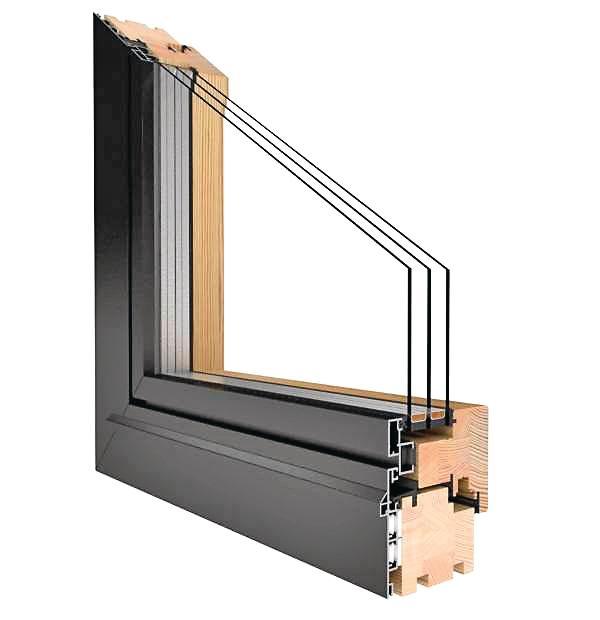 Fenster mit Holzrahmen. Bild: Drutex