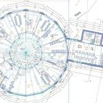Grundriss. Zeichnung: Architekten