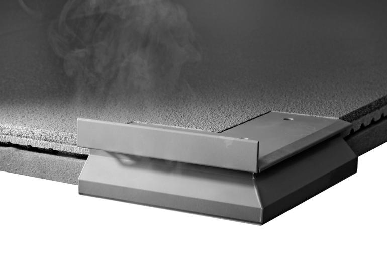 Schwarz-lackiertes Eckstück. Bild: Kemper System