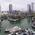 Die Suiten des Hotels bieten einen imposanten Blick über die Skyline von Rotterdam.