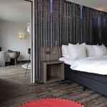 Alle Zimmer sind mit einer eigenständigen Interpretation von Luxus ausgestattet.