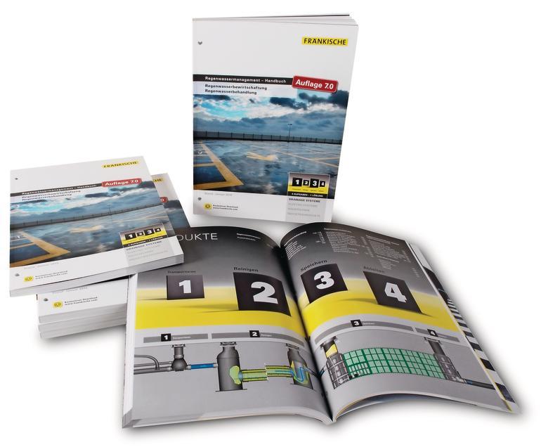 Die 7. Auflage des Regenwassermanagement-Handbuchs.