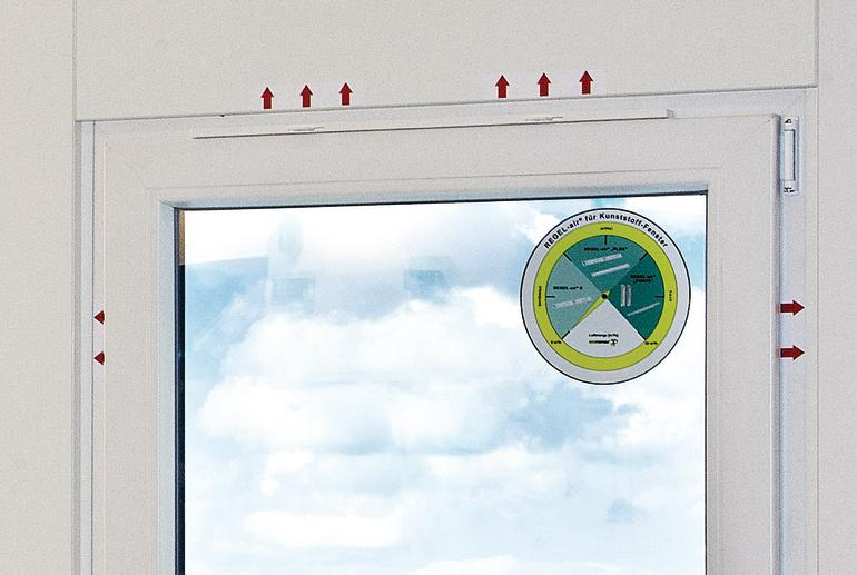 Fensterfalzlüfter