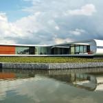 Glasfassade für Wohnhaus in Westland (NL): Kurven ohne Kanten. Bilder: Architect Koen Olthuis – Waterstudio.NL