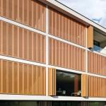 Wählen kann der Planer zwischen Metall-, Holz- und Textilläden.
