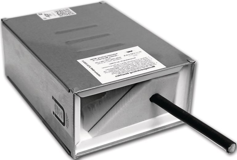 Eine Kabelbox. Bild: Wichmann Brandschutzsysteme