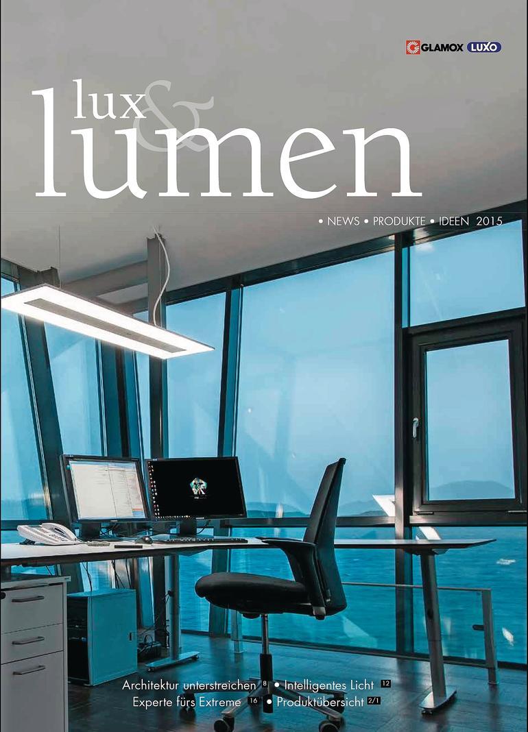 """Zeitschrift """"lux & lumen""""."""