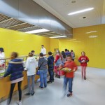 Zeitgemäße Schülerverköstigung mit 256 Sitzplätzen auf 360 m².