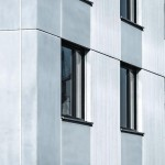 Bei Bauten mit vorgefertigten Betonelementen ist der Fugenverlauf Bestandteil der architektonischen Gestaltung.