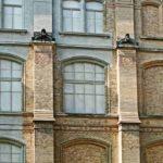Naturkundemuseum in Berlin: Am Übergang zum Bestandsmauerwerk ist zu erkennen, welche Passgenauigkeit mit Fertigteilen zu erreichen ist. (Architekten Sanierung: Diener & Diener | Fertigteile: allton Fertigteile) Bild: Markus Hoeft
