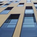 An Sandstein erinnernde Optik einer gesäuerten Fassadenoberfläche. Bild: Thomas Hanack